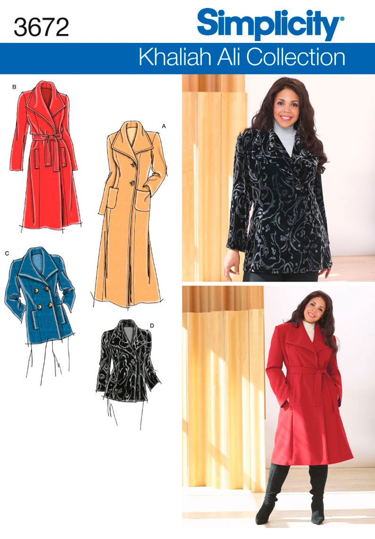 3672 Plus Size Jackets Plus Size/Plus Size Petite Coat or Jacket ...