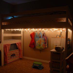 Under Loft Bed Lighting Ideas In 2019 Bedroom Loft