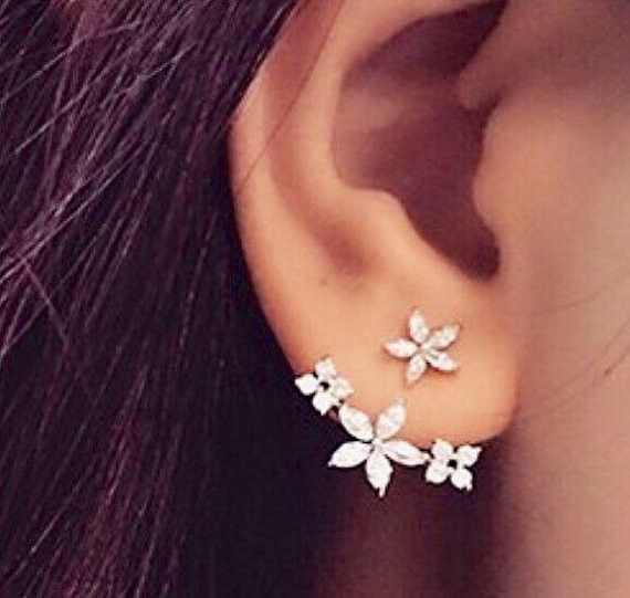earrings ball earrings|clip on earrings|ear cuffs|dangle earrings|earring jackets|hoop earrings|stud earrings|Retro earrings ladies dress European and American diamonds