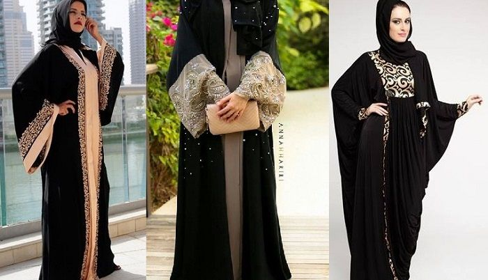Stylish Party Wear Formal Abaya Collection 2016 2017 Black Abaya Designs Abaya Designs Abayas Fashion