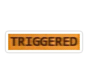 Triggered Sticker By Memeapparel Computer Sticker Meme Stickers Snapchat Stickers