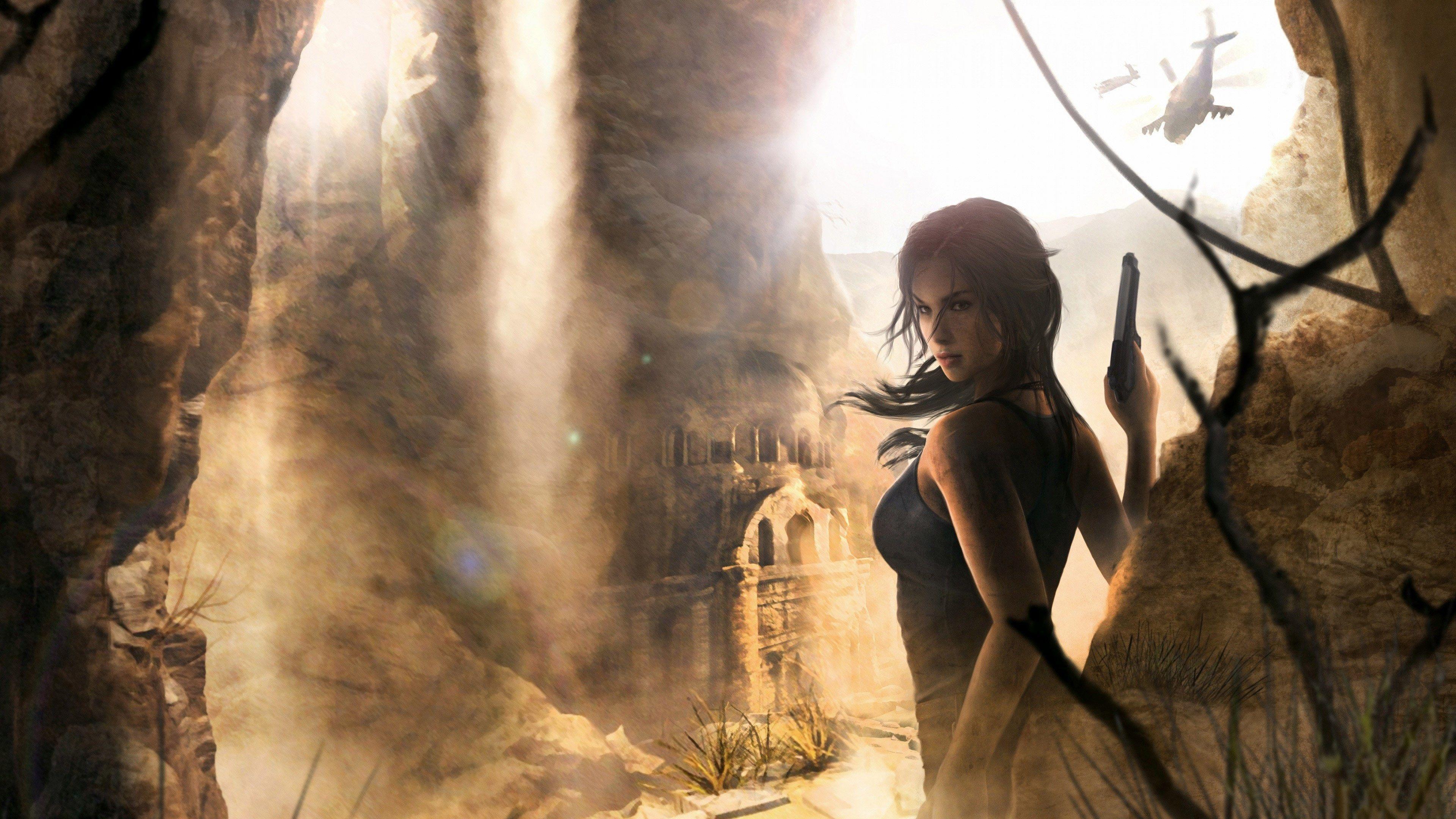 3840x2160 Lara Croft 4k Wallpaper For Hd Desktop Tomb Raider Wallpaper Tomb Raider Rise Of The Tomb