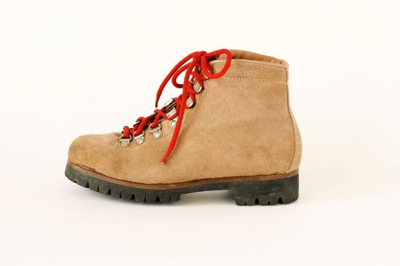 912ad5f87ff vintage Pivetta leather hiking boots 65 by roxandsam on Etsy, $88.00 ...