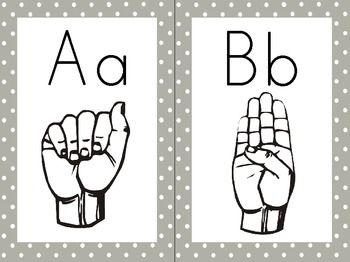 Asl Letters  Hand Sign Free Download  Free Awesome Printables