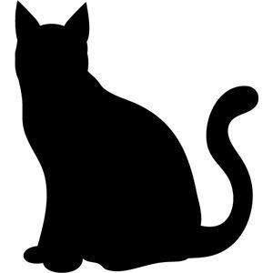 b16cbd17b2 Cat silhouette   petstuff   Cat silhouette, Cat applique, Silhouette