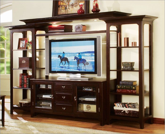 Wall Unit Entertainment Center (Racks And Stands,