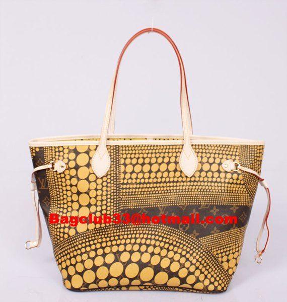 Louis Vuitton Neverfull Monogram Handbags Neverfull Mm M40684 Yellow Monogram Handbag Cheap Louis Vuitton Handbags Louis Vuitton Neverfull Monogram