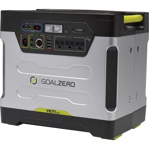 Eol Goal Zero Yeti 1250 Solar Generator With Solar Generator
