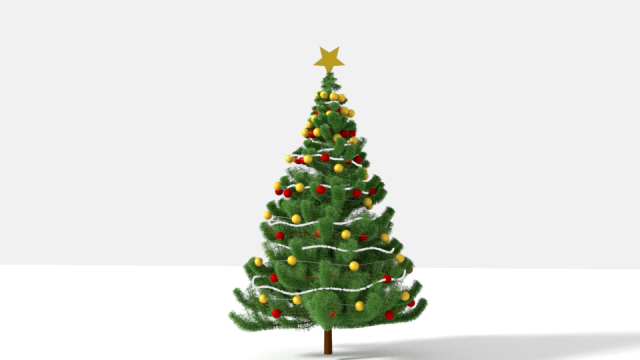 Christmas Tree 3d Model Max C4d Obj 3ds Fbx Lwo Stl 3dexport Com By Shaistawasiq Christmas Tree 3d Model Christmas Tree Christmas