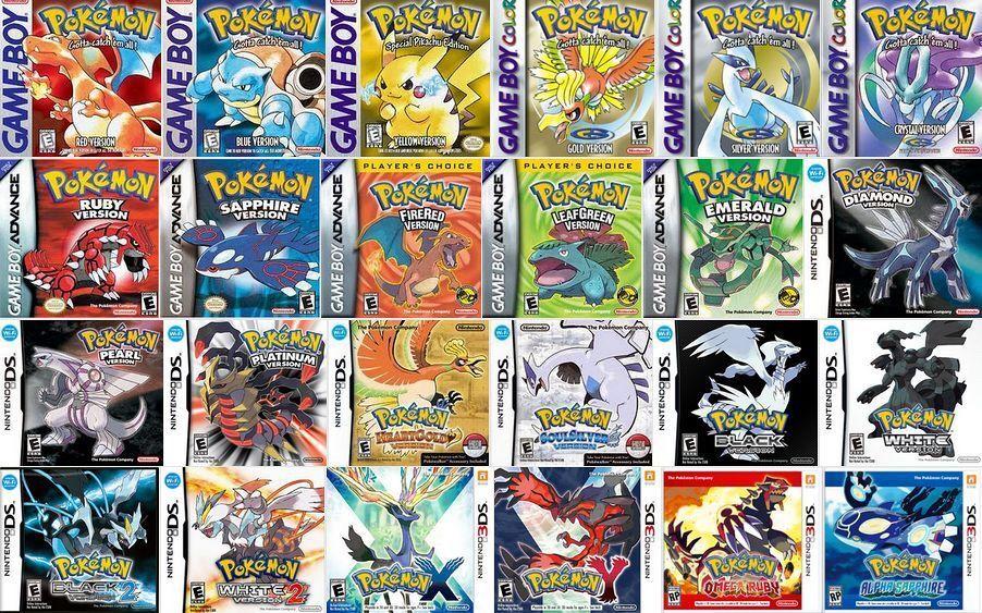 Nintendo 3ds Pokemon Games : Best pokemon nintendo ds games top games