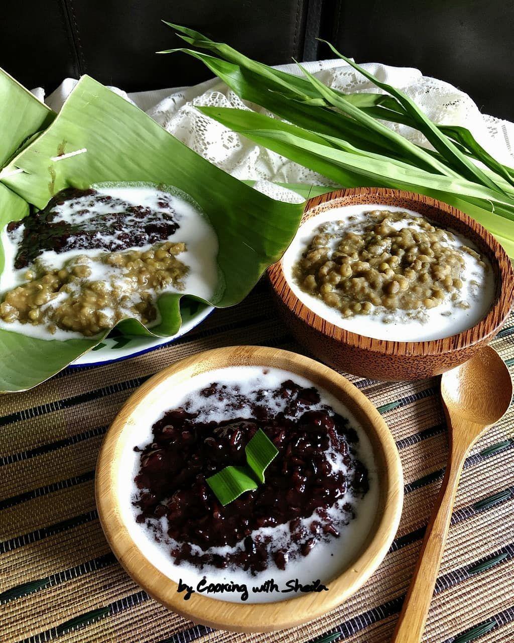 Resep Bubur Kacang Hijau Ketan Hitam : resep, bubur, kacang, hijau, ketan, hitam, Dessert