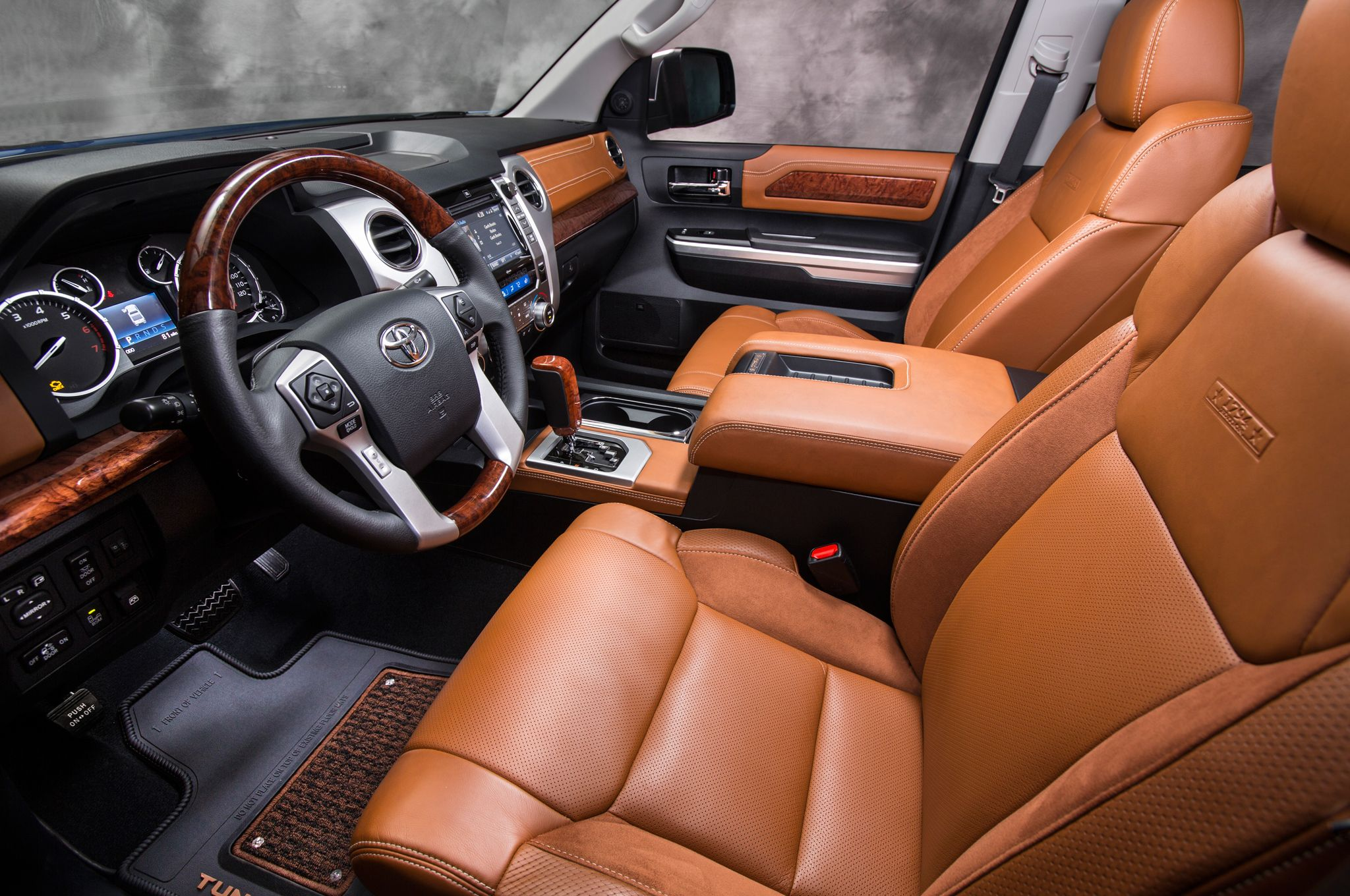 Marvelous 2014 Toyota Tundra 1794 Edition   Interior Front