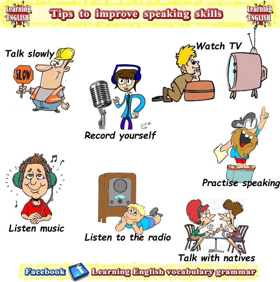 List of ways to improve your speaking English skills | Learn English ...