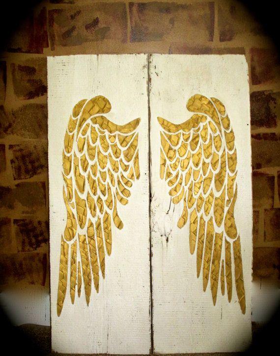 Angel Wing Wall Decor, Wings, Large Angel Wings, Angel Wing Wall ...