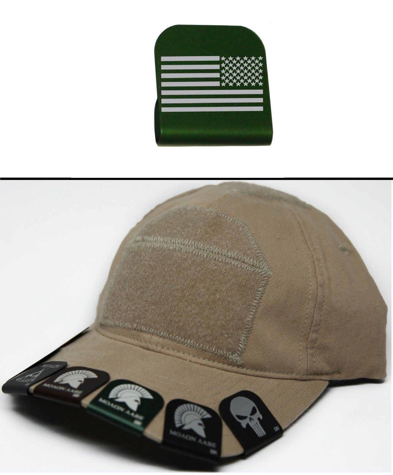 Ultimate Arms Gear USA AMERICAN FLAG REVERSE Hat Cap Crown Brim-It ... 82d28a458ba