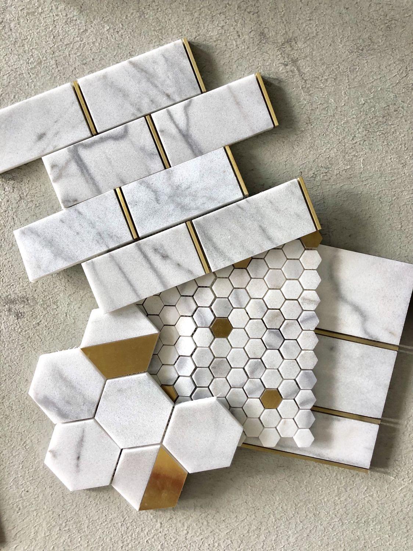 marble brass tiles marble tiles
