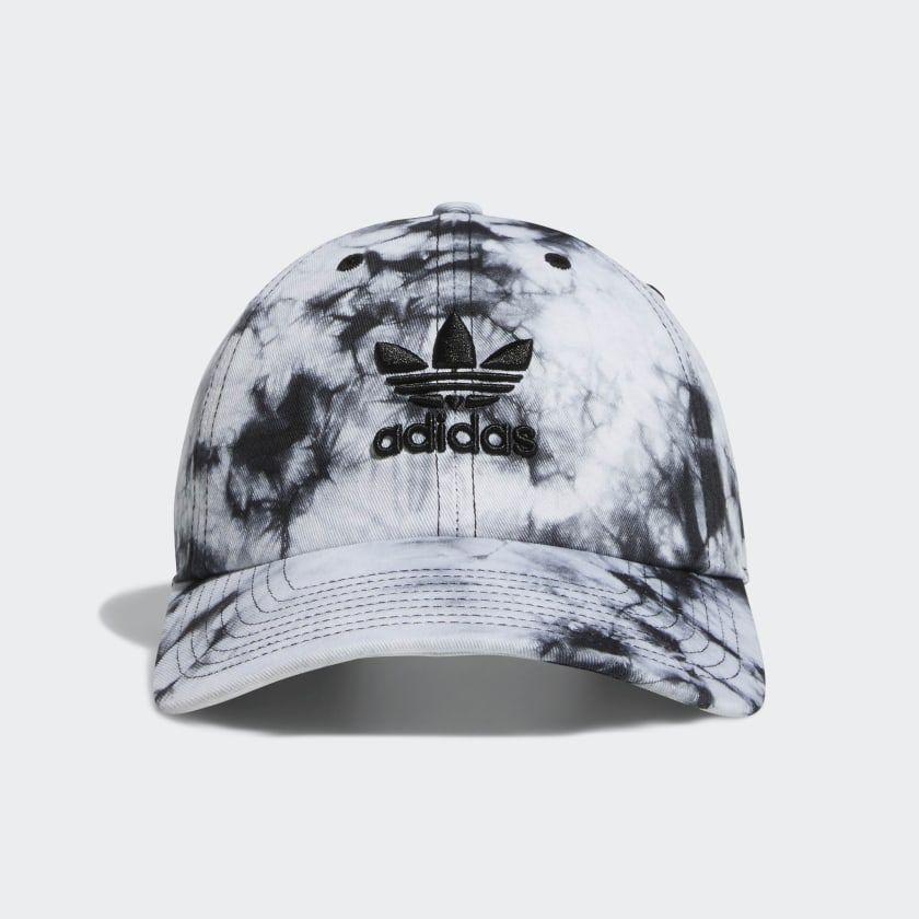 Adidas Relaxed Tie Dye Strap Back Hat Black Adidas Us Adidas Originals Women Tie Dye Hat Strapback Cap