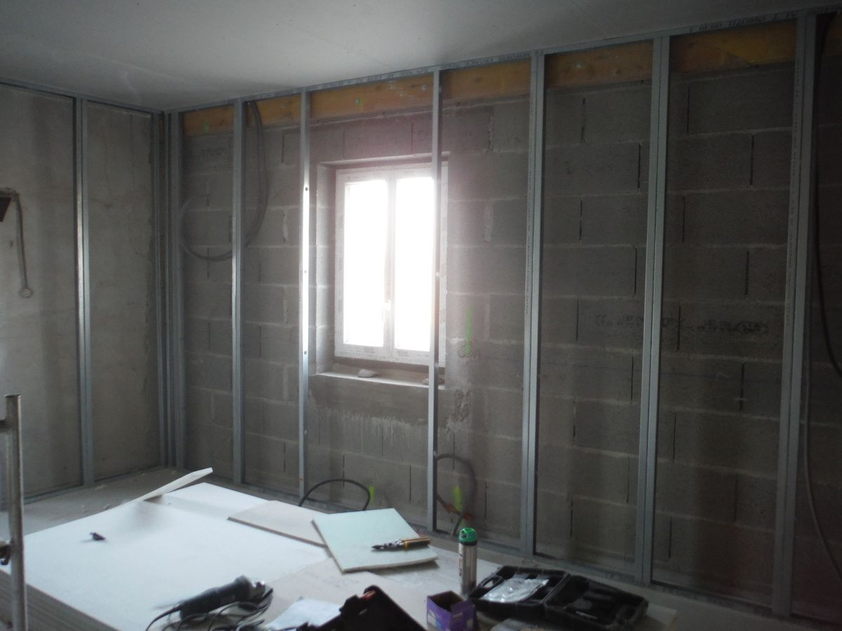 Cloisons Et Isolations Des Murs Exterieurs Isolation Mur Cloison Isolation