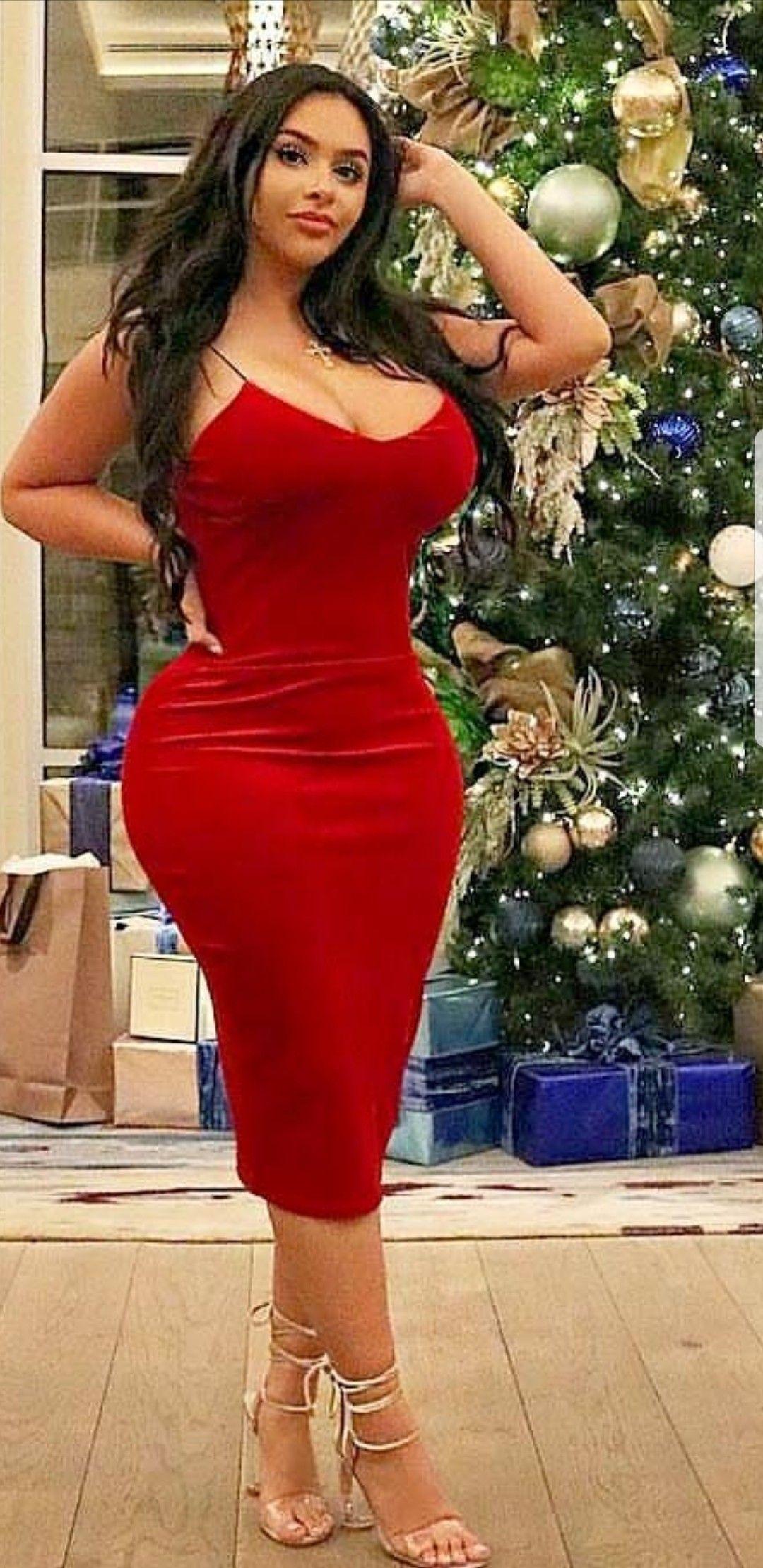 Curvy women tight dress