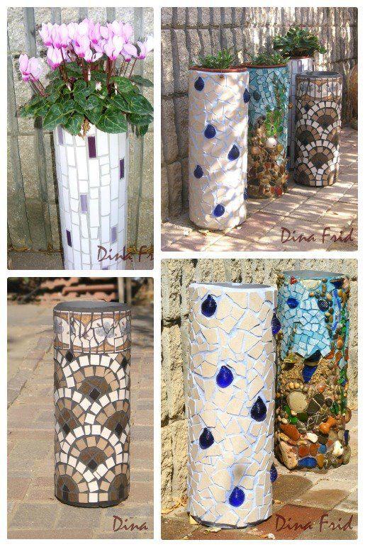 maceteros piedras | macetas | pinterest | macetas, plástico y piedra