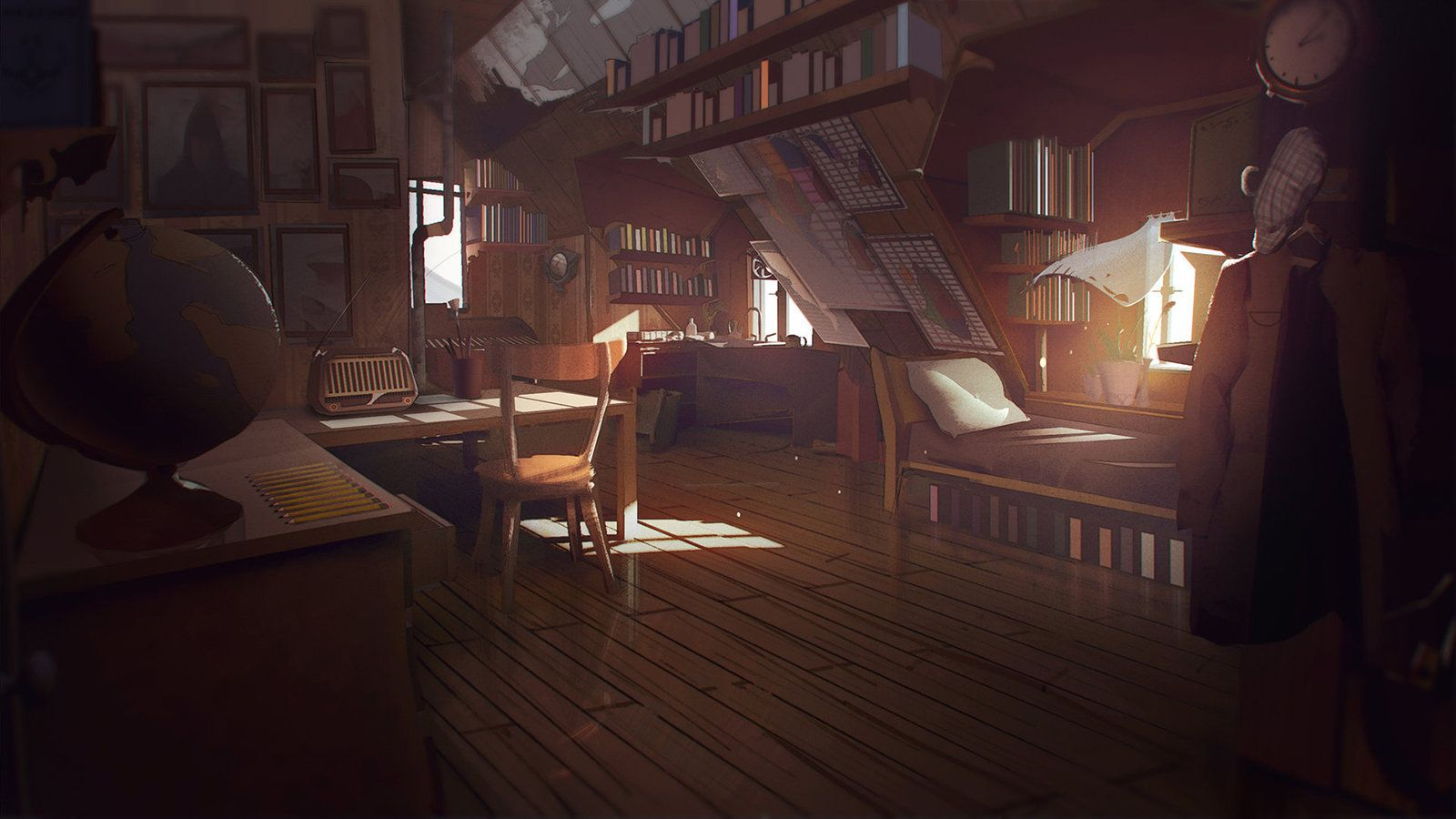 Artstation What Remains Of Edith Finch Bedroom Concept