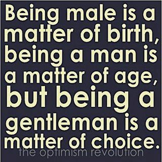 And I Would Add That Being A Man Of God Is Matter Of Caring For What
