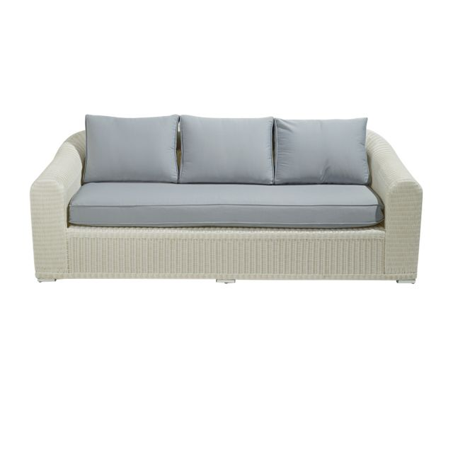 salon de jardin castorama achat sofa rotin comoro blanc avec coussin 2 housses prix castorama. Black Bedroom Furniture Sets. Home Design Ideas
