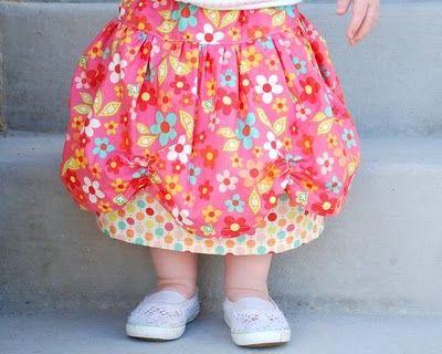 Scalloped Skirt Tutorial
