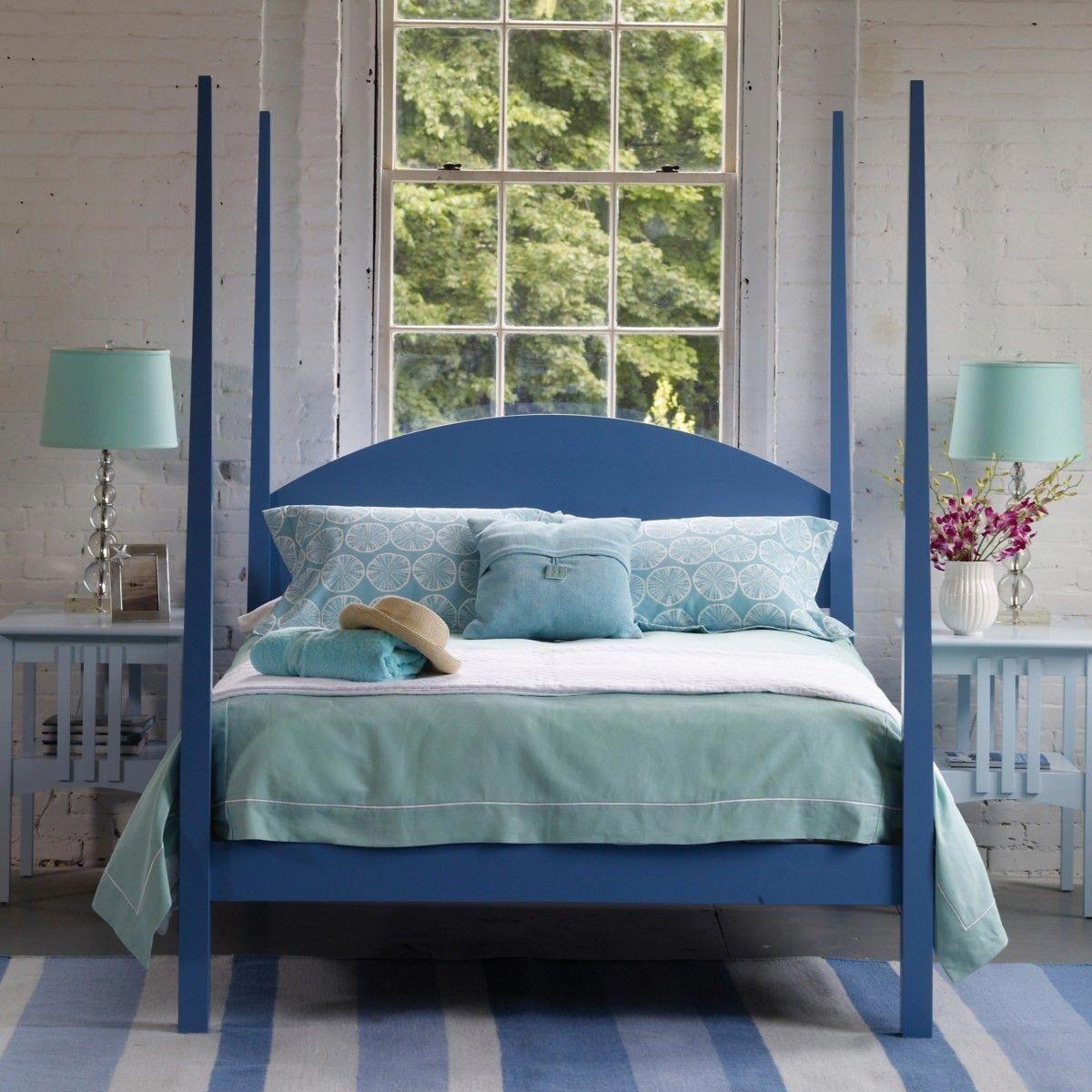 Calvin Bed Coastal Bedrooms Maine Cottage Furniture Cottage