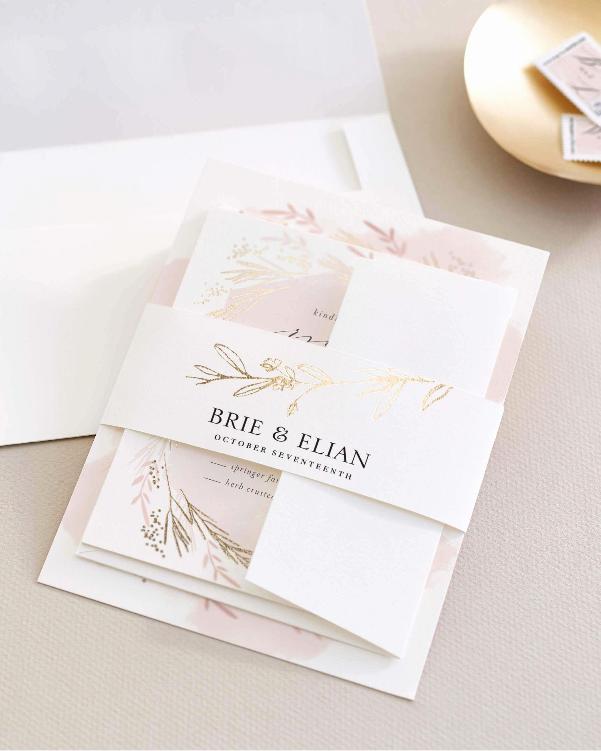Brides Premium Invitation Kit Target Fresh Assembling Wedding Invitations In 2020 Minted Wedding Invitations Assembling Wedding Invitations Beach Wedding Invitations