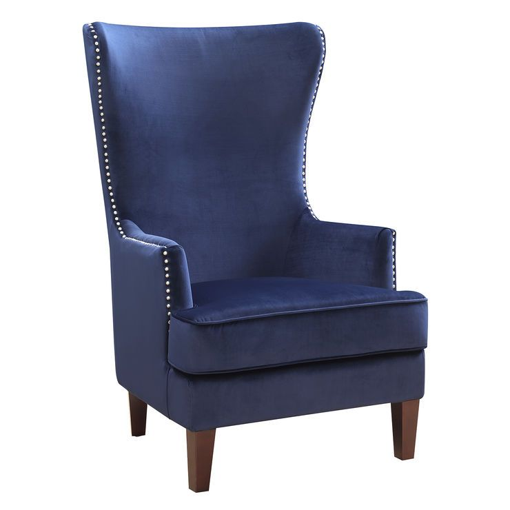 Best Pin By Kira Broderick On Dining Room Blue Accent Chairs 400 x 300