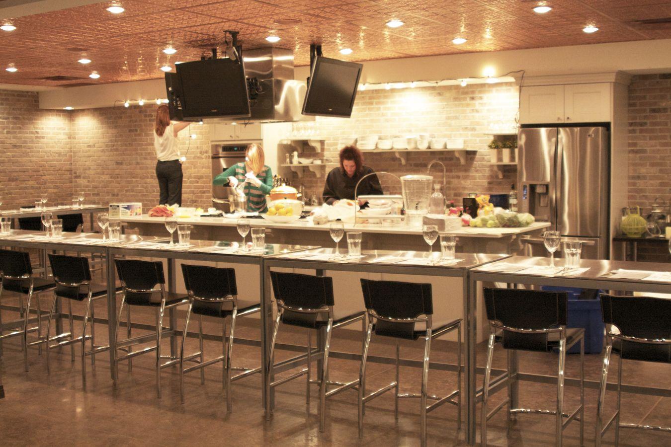 The Cooking Room In Red Deer Alberta Cooking School Design Cooking School Kitchen Cooking School
