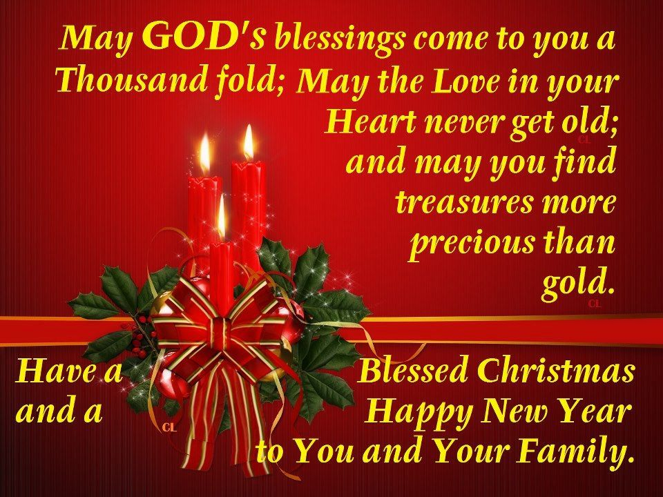have a blessed christmas and a happy new year - Have A Blessed Christmas
