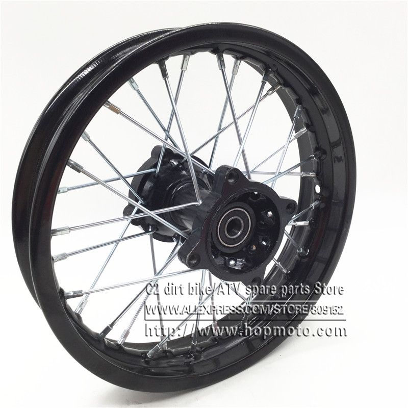 Pit Bike Rim Of 12inch Rear Wheel Rim 80 100 12inch Steel Dirt Bike Wheel Rims Bike Wheel Pit Bike Wheel Rims