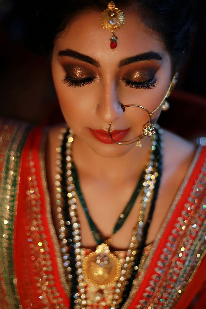 10 Bridal Makeup Looks For Stunning Dusky Brides!
