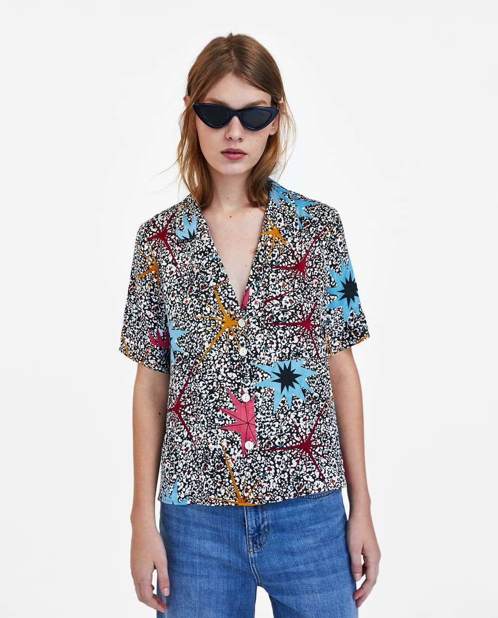 721d3a4d26549 SATIN PRINTED SHIRT-View All-SHIRTS AND TOPS-WOMAN