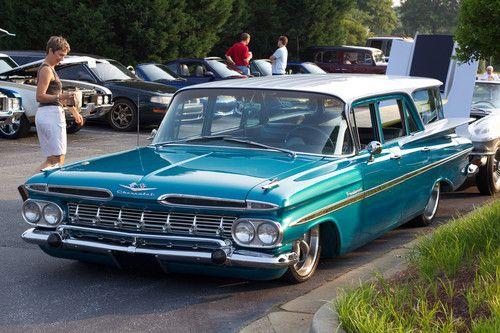 1959 chevrolet kingswood station wagon car craft. Black Bedroom Furniture Sets. Home Design Ideas