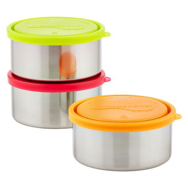 Use our leakproof 16 oz. Stainless Steel Round Containers