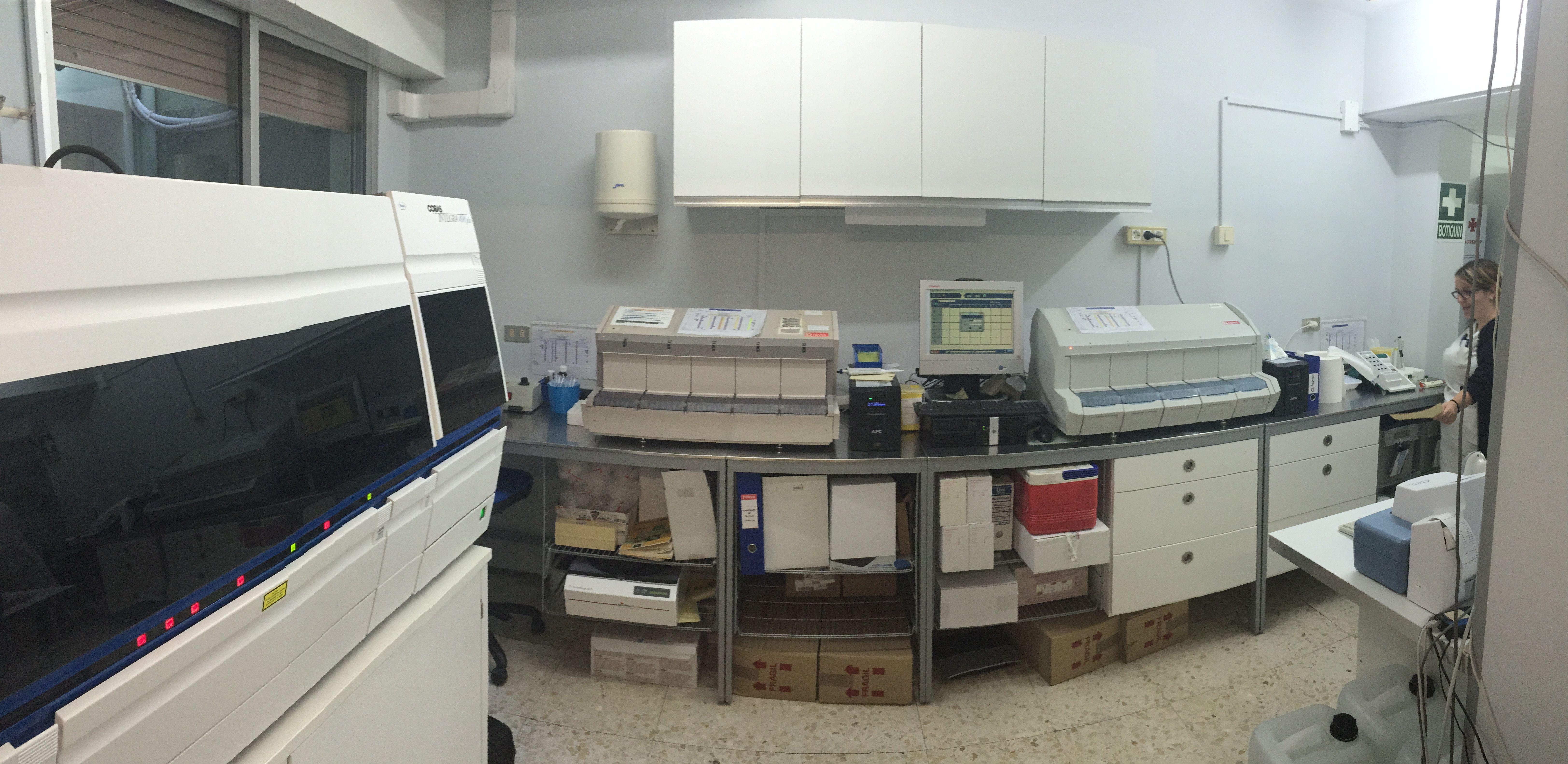 Laboratorio de LGS en Hospital Santa Cruz