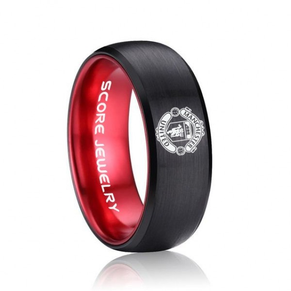 Pin By Barrett Martin On Jewelry In 2020 Tungsten Carbide Wedding Bands Modern Ring Soccer Jewelry