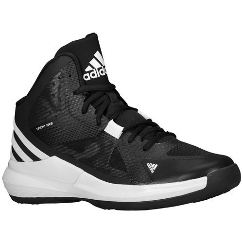 Adidas Crazy Strike Adidas- Black basketball shoes