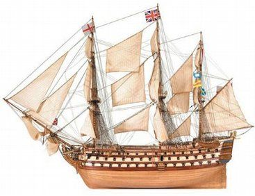The Artesania Latina Hms Victory Wooden Ship Model Kit Is