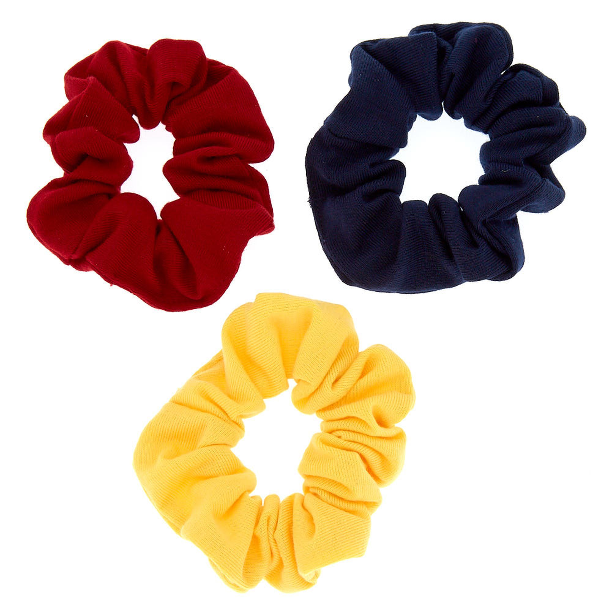3 Pack Yellow Claire/'s Girl/'s Preppy Girl Hair Scrunchies