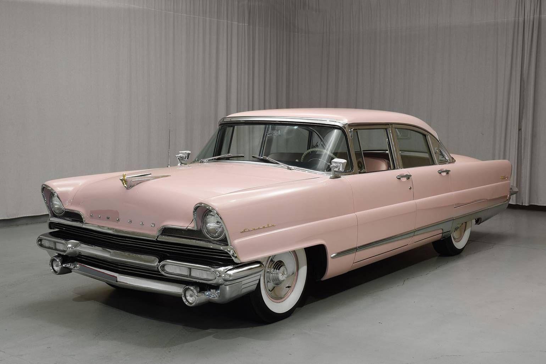 1956 Lincoln Premiere 4 Door Sedan Lincoln Continental 1956