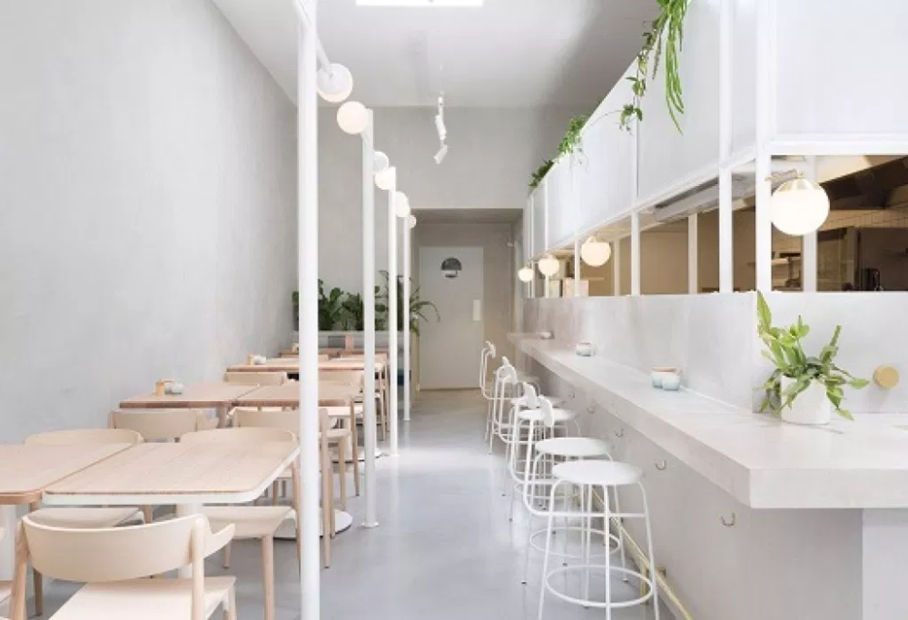 Design Interior Cafe Moderen Dan Klasik Desain Rumah Minimalis Interior Vintage Interior Desain Interior