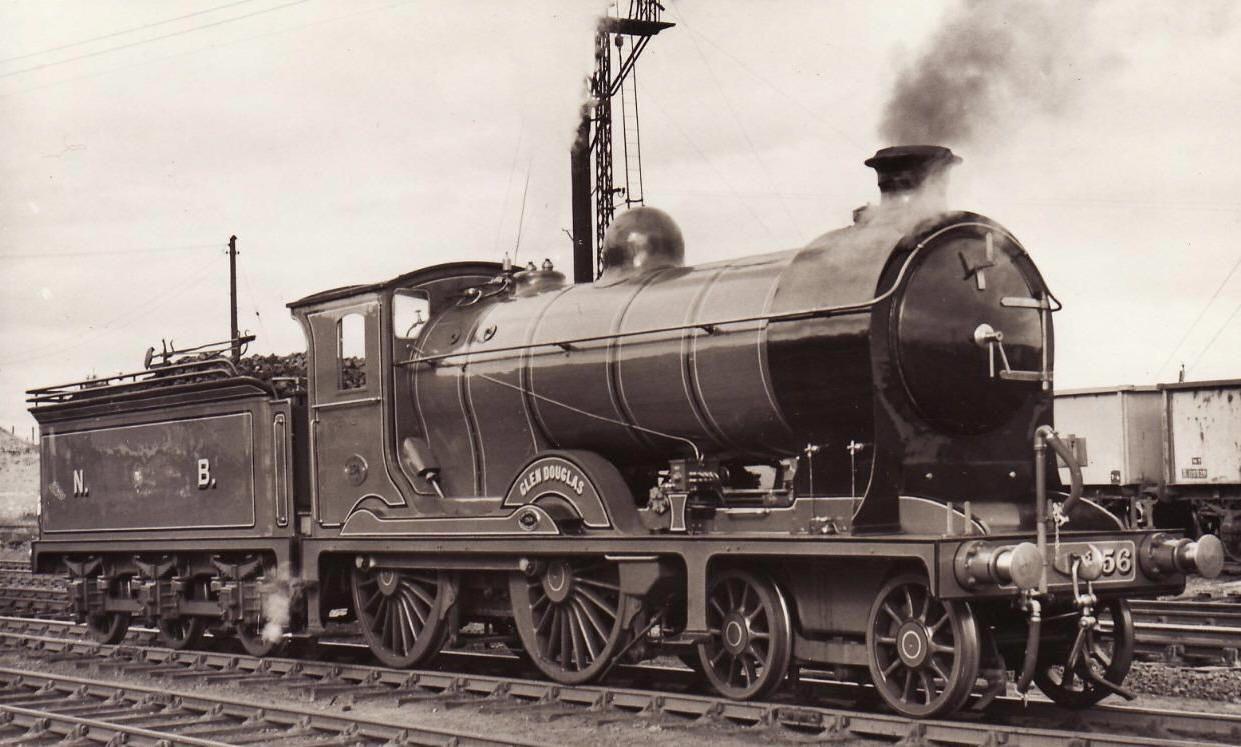 Glen Douglas Railway Engine Steam Railway Locomotive Steam Trains