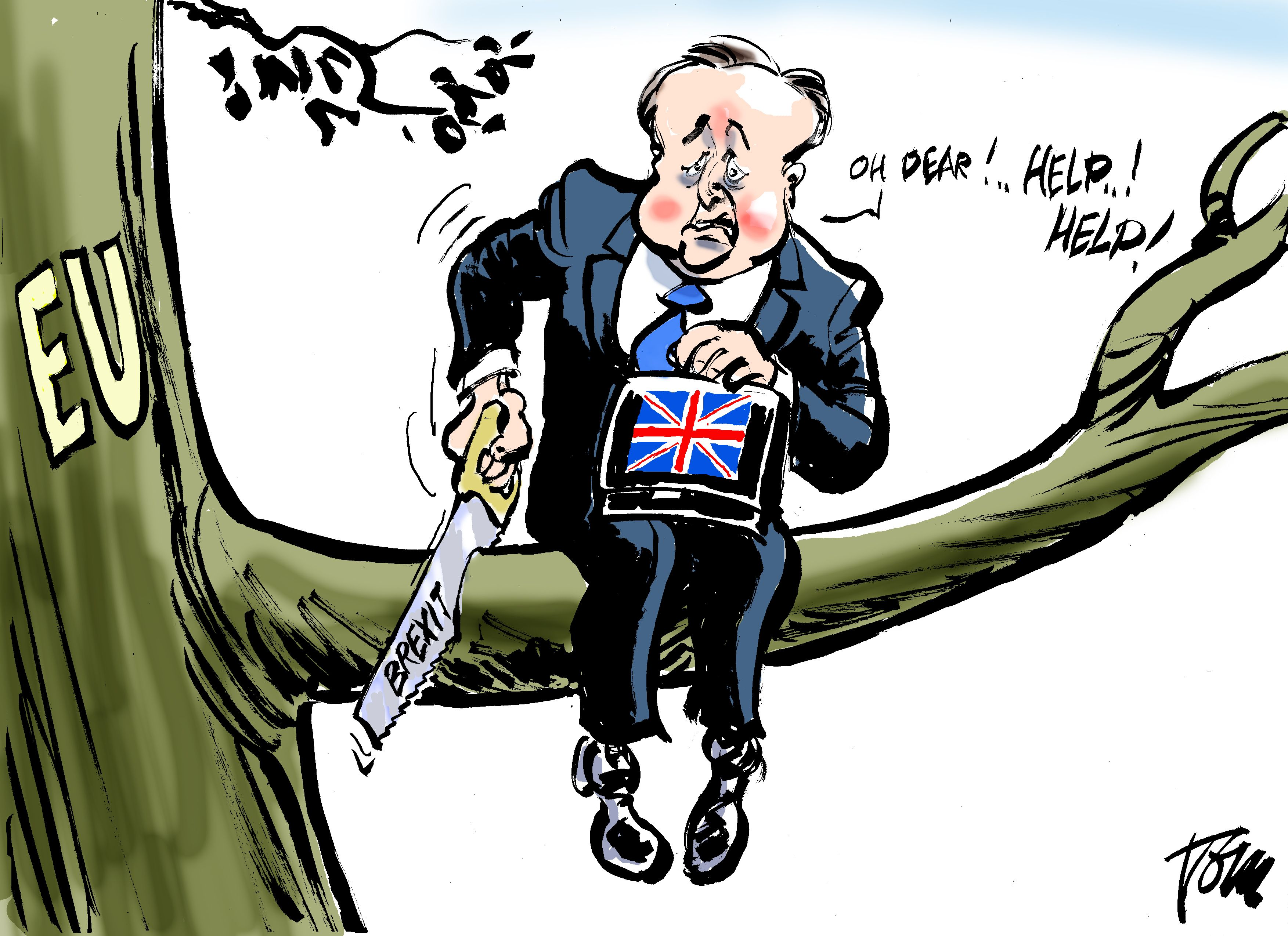 Image result for brexit famous cartoons