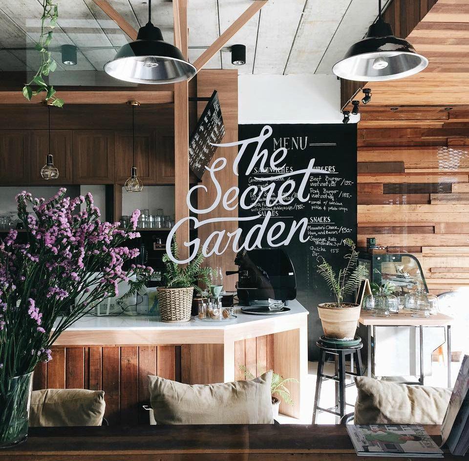 The Secret Garden Flower Shop Design