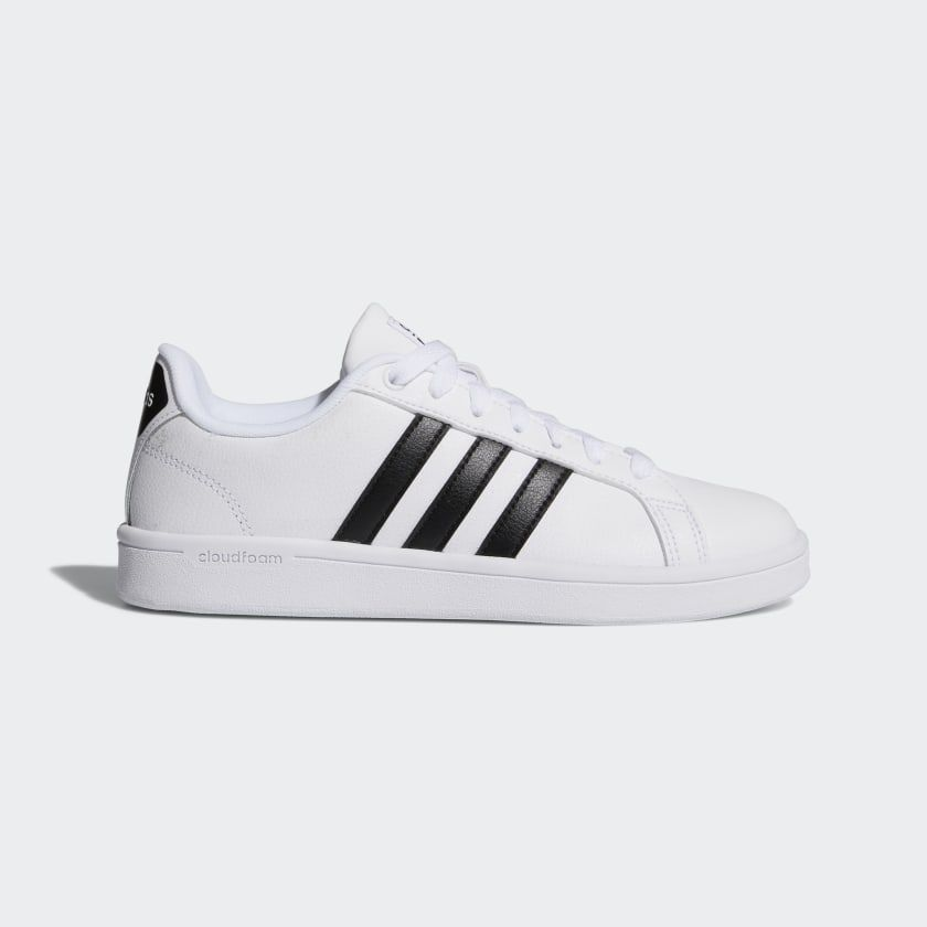 Cloudfoam Advantage Shoes White Womens | Shoes, Adidas, Sneakers