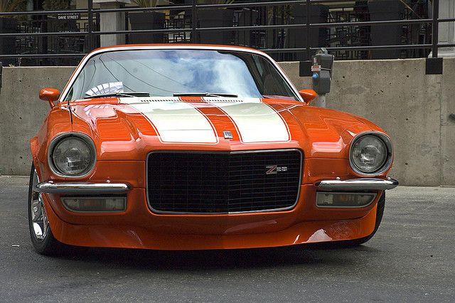 1971 Z28 Camaro Split Bumper